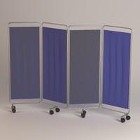 maya folding screen