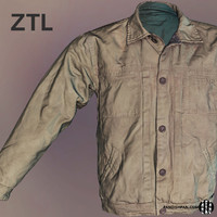 Male Jacket ZBrush 3D Scan