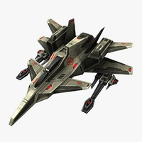 3d model of jet ready games