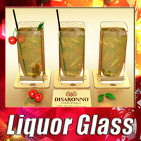 Disaronno Liquor Glass