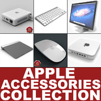 3d apple accessories