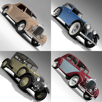 antique car 3d model