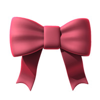 bow ribbon tie 3d 3ds