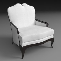 3d armchair christopher guy