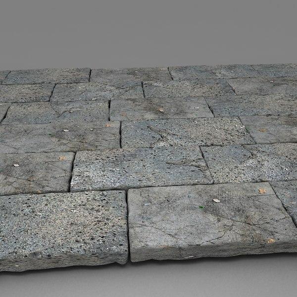 Large Stone Blocks : Big stone blocks d model