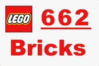 Lego Bricks Collection - 662 bricks