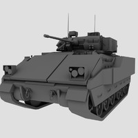 M2 M3 Bradley US Army IFV Game Model