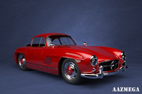mercedes-benz 300sl car sports 3d 3ds