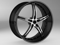 maya wheel rim