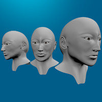 3ds max head topology