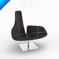 fjord relax chair patricia 3d max