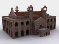 court lahore 3d model