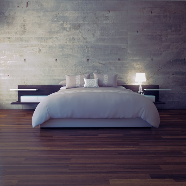 Bed 3d max for 3ds max bed model