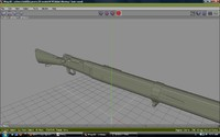 3ds max french lebel rifle spike