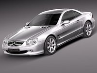 Mercedes-Benz SL 2003-2007