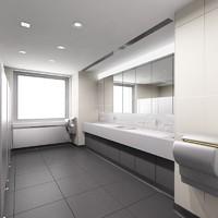 rest room 3d model