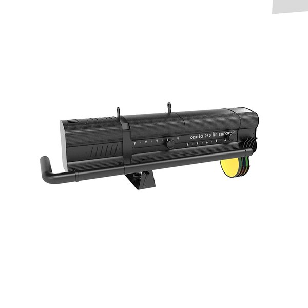 3d canto 250 hr model - Canto 250 HR MK2 Stage followspot light... by shop3ds