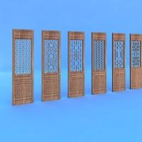 door sinicism 3d model
