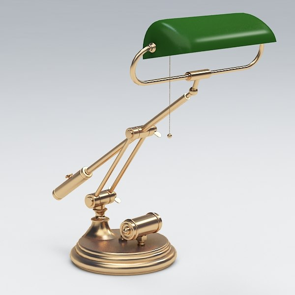 3d model of desk lamp - Lamp desk043... by Fworx