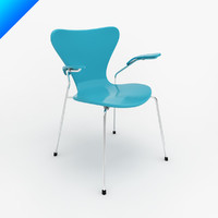 3ds series 7 arm chair
