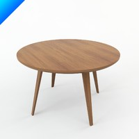 Norman Cherner Table Round