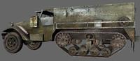3d model m3 halftrack