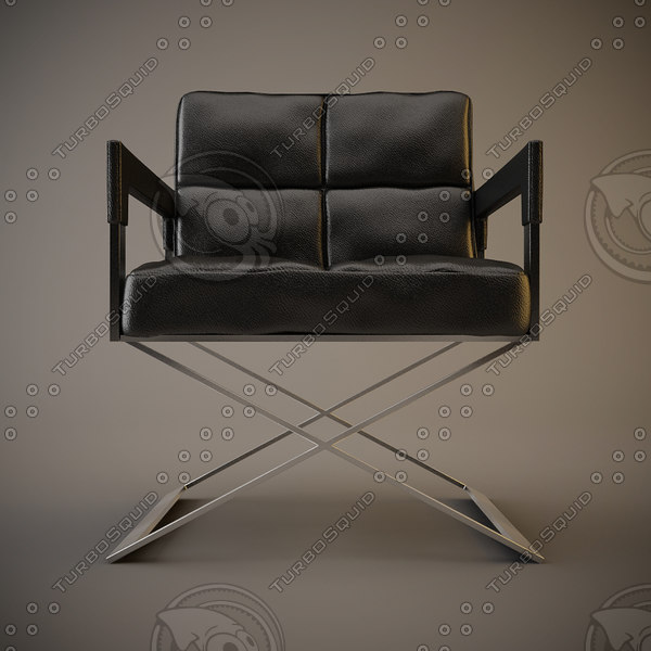 3d model eichholtz desk cross office chair - eichholtz desk cross office chair... by vladtep