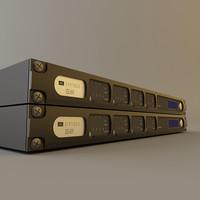 jbl synthesis sdec 4500 3d model