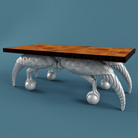 empire table 3d max