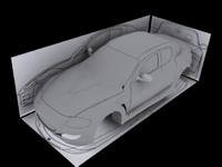 car rx-8 body 3d max