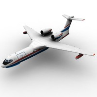 3d model beriev be-200