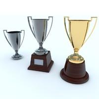3dsmax trophy cup
