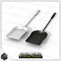 fireplace scoop obj free