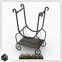 Fireplace Tool Rack-Rocz3D