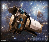 nasa space kepler 3ds