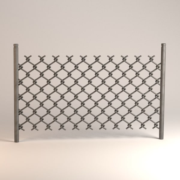 chain fence 3ds