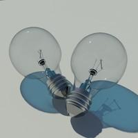 light bulb lightbulb 3d model
