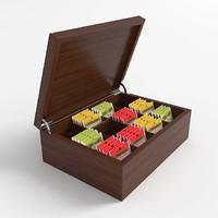 teabag box 3d model