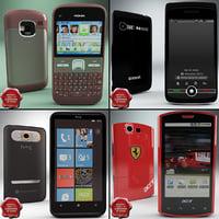 cellphones v22 3d model