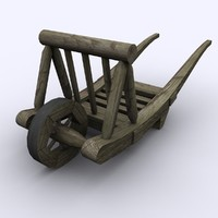 maya 15th century wheelbarrow