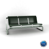 3ds bench chair