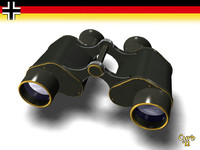 3d binoculars germans model