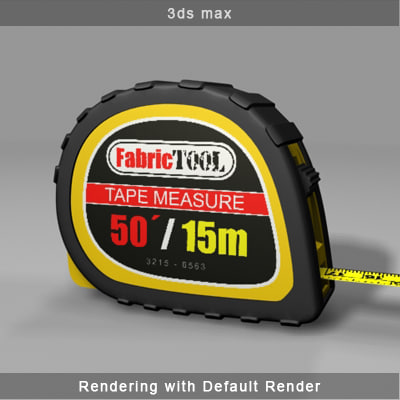 tape measure 3d max - Tape Measure... by canache