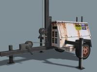 3d model light generator
