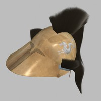 greek helmet 3d 3ds