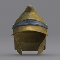 greek helmet epeirote elite obj