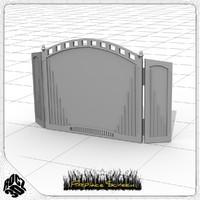free 3ds model fireplace screen