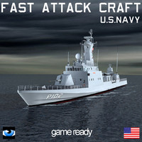 3ds max fac fast attack craft