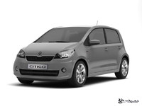 3ds max skoda citigo 5door 2013