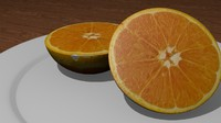 orange plate blend
